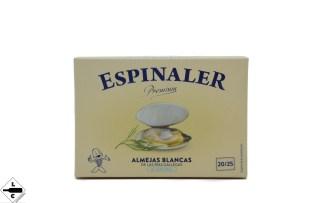 almejas blancas premium espinaler 20/25