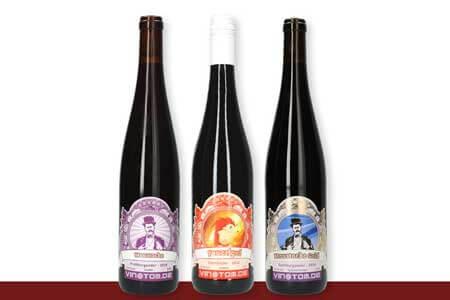Weinflaschen Rotweine