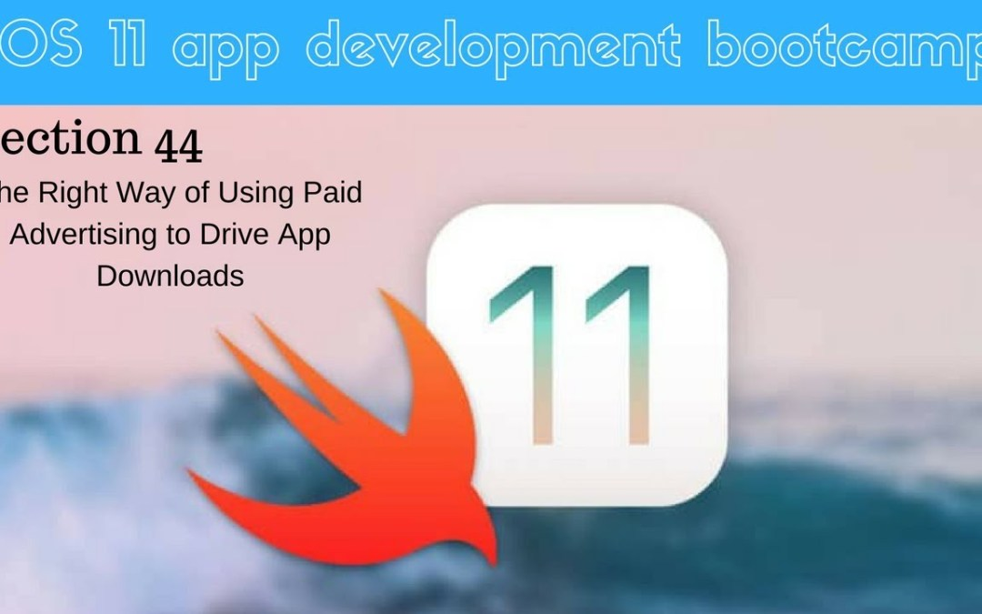 iOS 11 app development bootcamp (312 How Much Does it Cost)