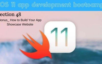 iOS 11 app development bootcamp (322 A 5 Second Way of Building a Web Page for Your iOS App)