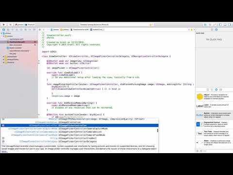 Mobile App Development in 27 Minutes: iOS App : Writing the Swift 2 code of an iOS app