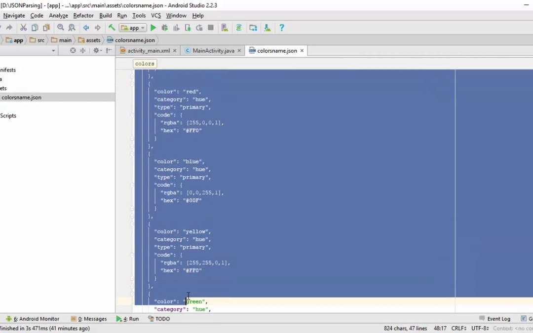 9 – JSON Parsing in Android Part 2 | Android App Development (Urdu / Hindi)