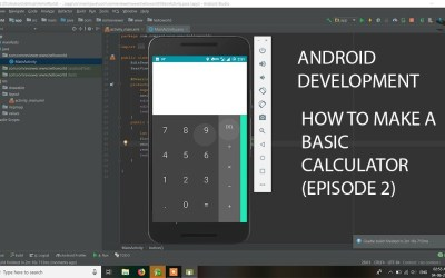 Android Application Development Tutorial – Episode 2 || HOW TO CODE A BASIC CALCULATOR ||HINDI||