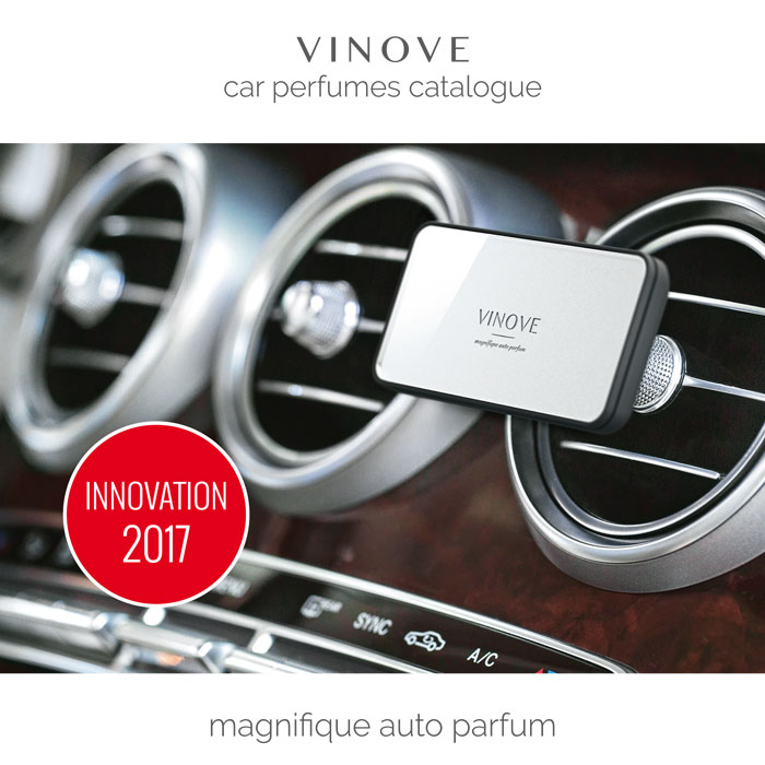 VINOVE car perfume catalogue 2017