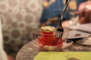 Watermelon salad Latin America
