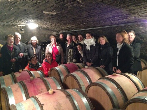 The Moreau family (and U.S. guests) descend upon Clos Salomon/Domaine du Gardin-Perrotto.