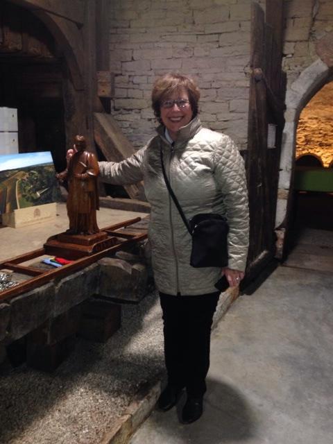 St. Vincent at D. du Cellier aux Moines.