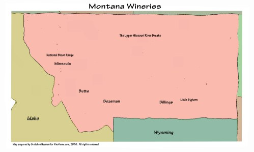 Montana Wineries
