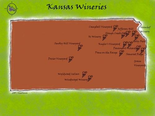 Kansas  Wineries