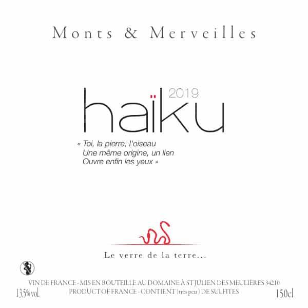 Haïku 2019 du domaine Monts & Merveilles