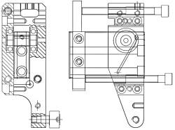 236 R Coil Tool Holder Left/Right