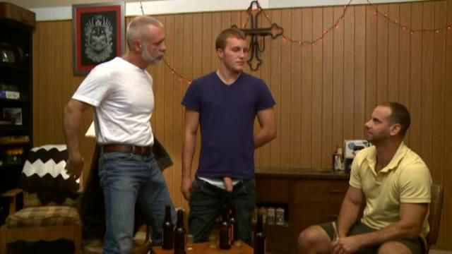 Allen Silver Girth Brooks fuck Alex Adams gay hot daddy dude men porn