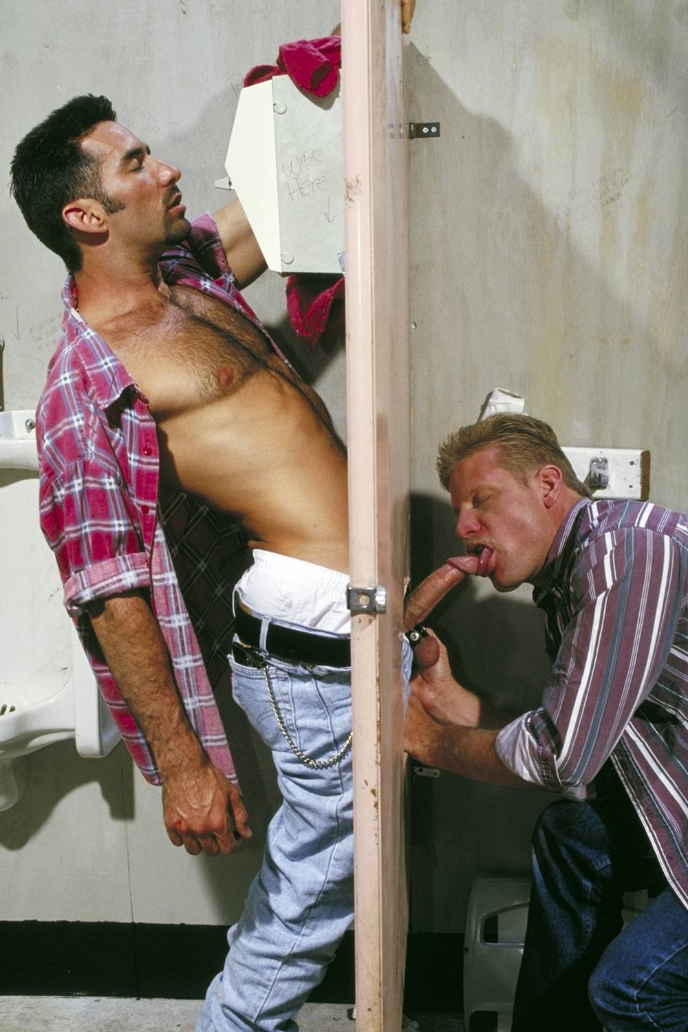 Cliff Parker fuck Scott Russell Road to Hopeful gay hot daddy dude men porn