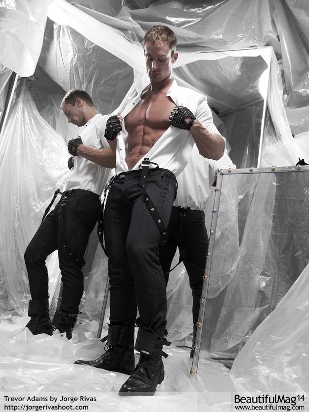Trevor Adams gay hot daddy dude men porn