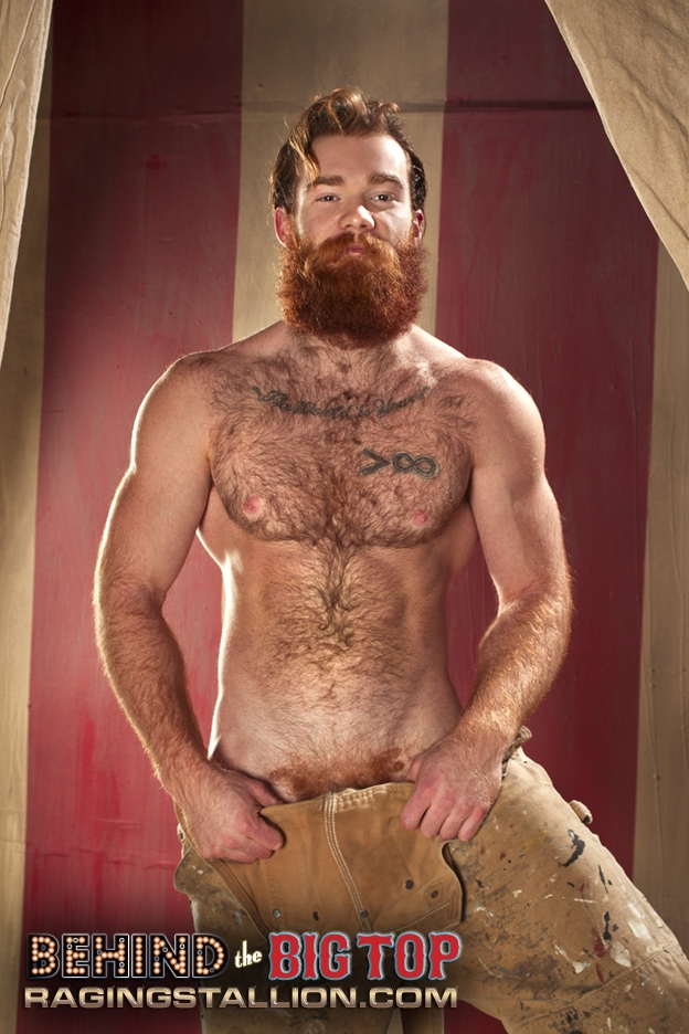 James Jamesson gay hot ginger daddy dude men porn