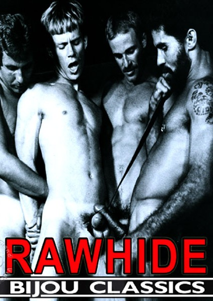 JW King bareback fuck Eric Stryker Rawhide vintage gay daddy dude men porn