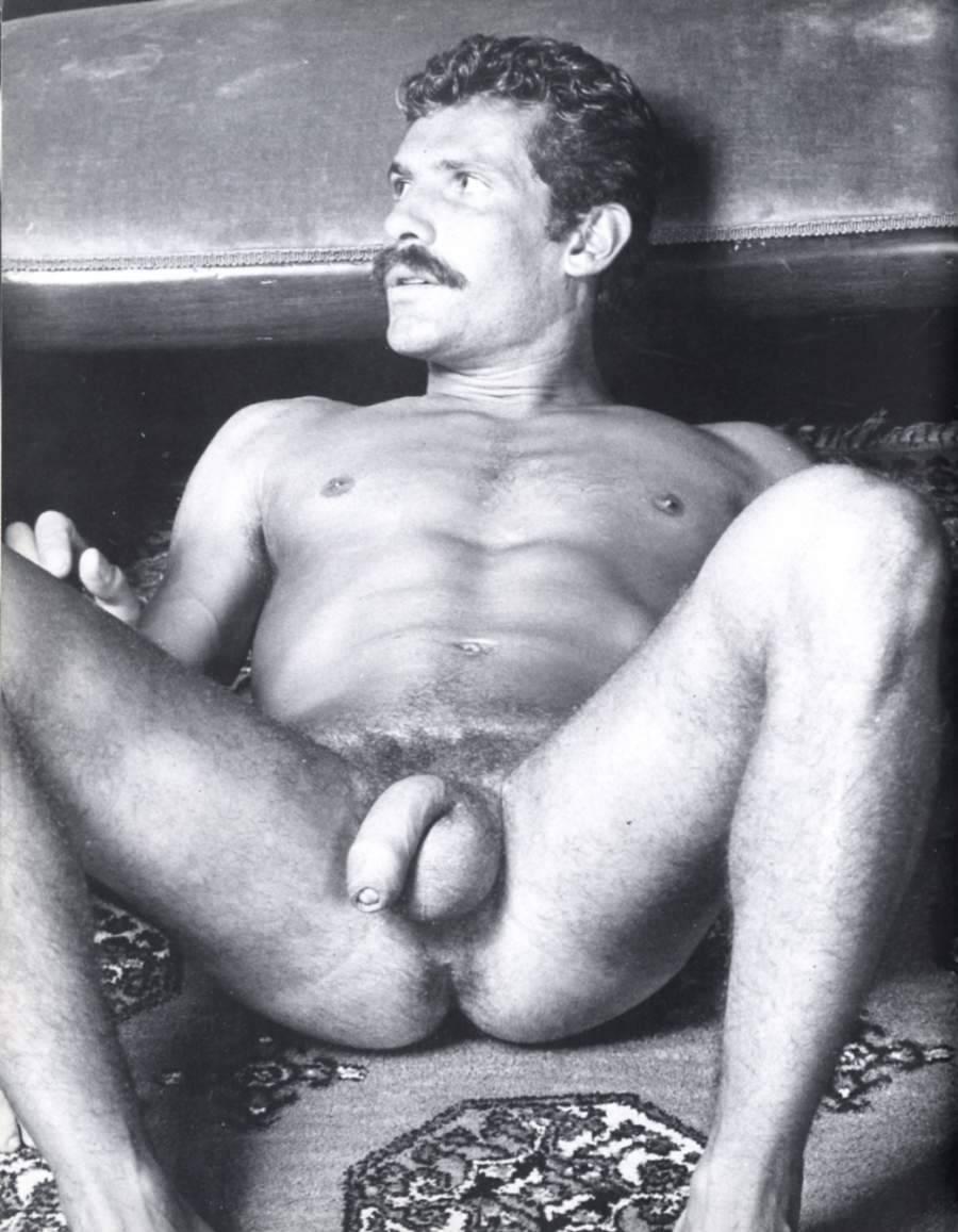 Giorgio Canali bareback fuck Jack Burke vintage gay hot daddy dude men porn