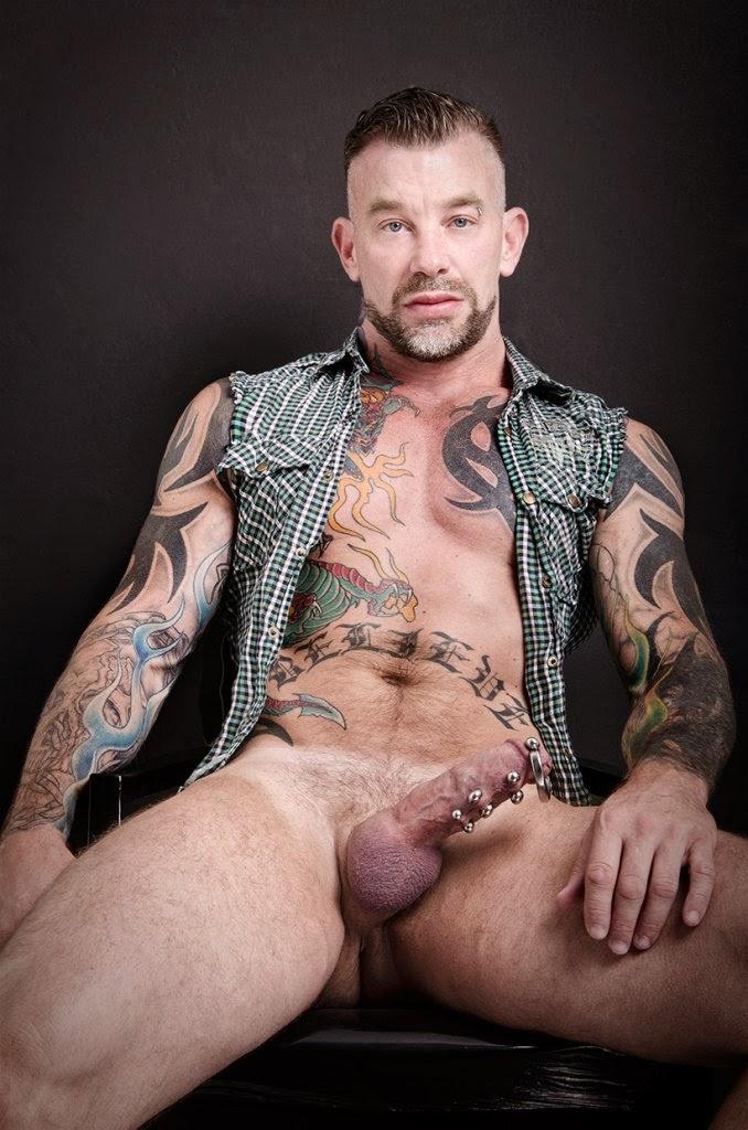 Colin West gay hot daddy dude men porn