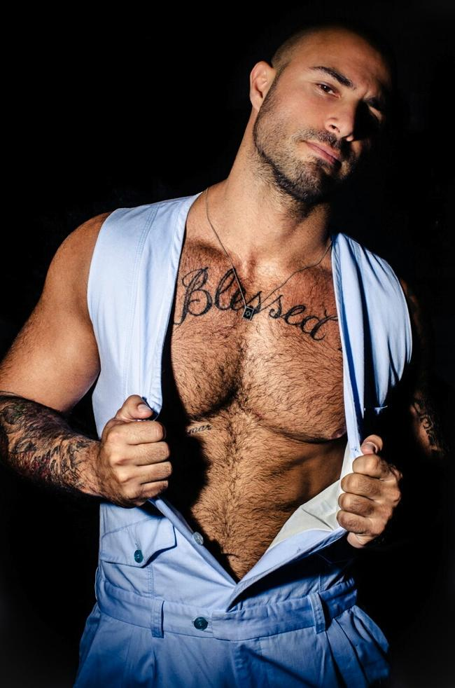 aron abikzer gay hot daddy dude men