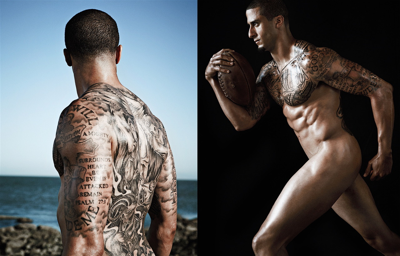 Colin Kaepernick hot daddies dudes men