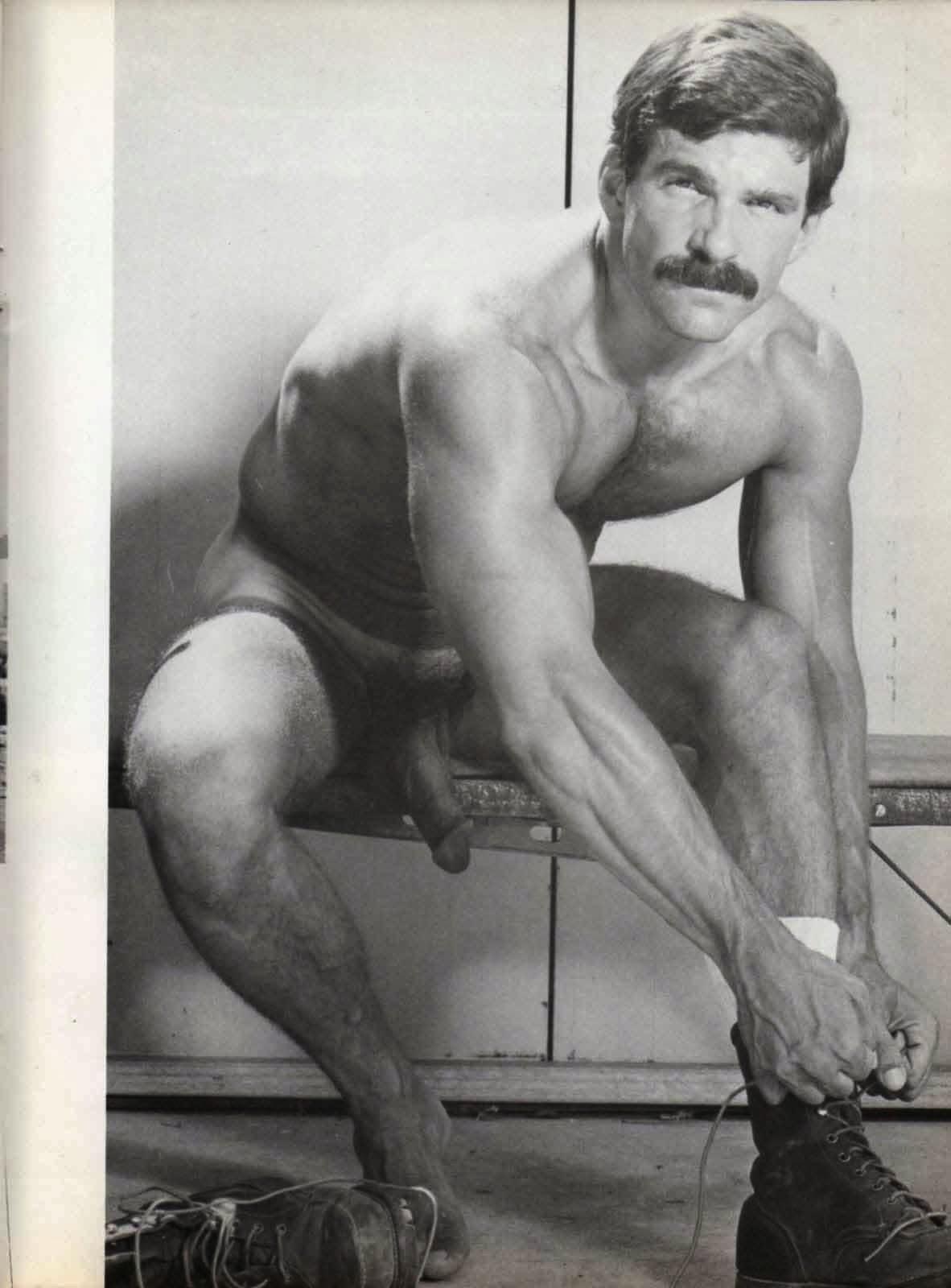 Rod Mitchell vintage gay hot daddy dude men porn