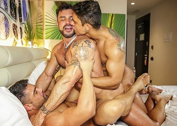 Rogan Richards fuck Diego Lauzen Wagner Vittoria gay hot daddy dude men porn TimTales