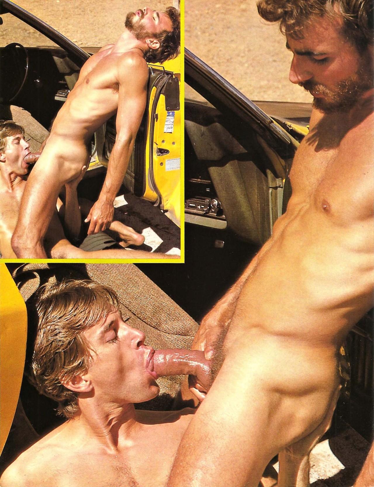Al Parker bareback fuck Craig Ryan vintage gay hot daddy dude men porn Taxi Driver