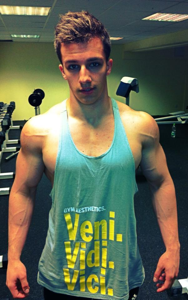 Tim Gabel gay hot daddy dude men fit