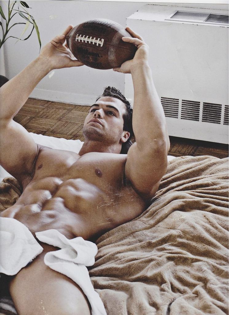 random gay hot daddy dude men football