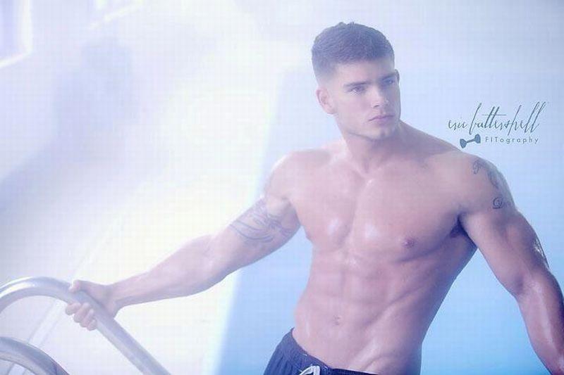 Colin Wayne sexy hot daddies dudes men model