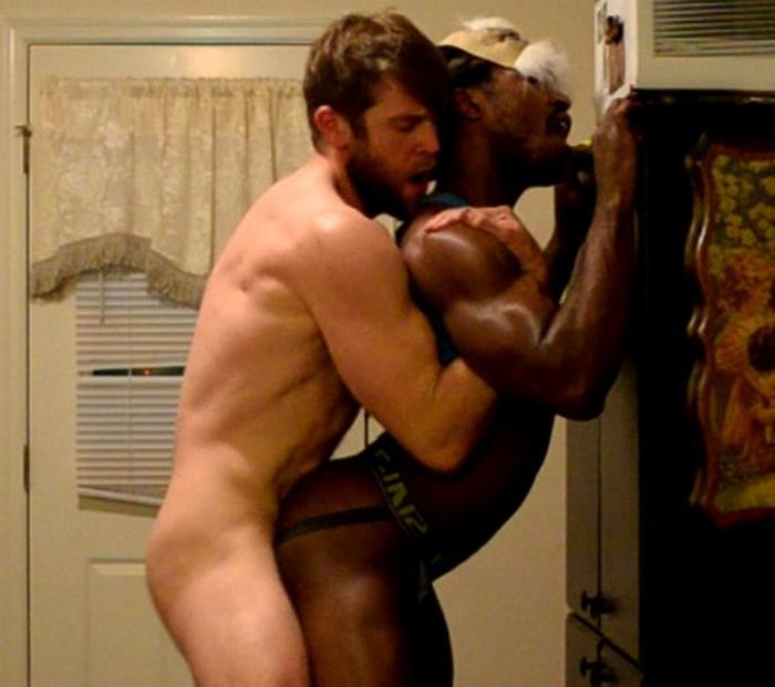 Colby Keller bareback fuck gay hot daddy dude men porn