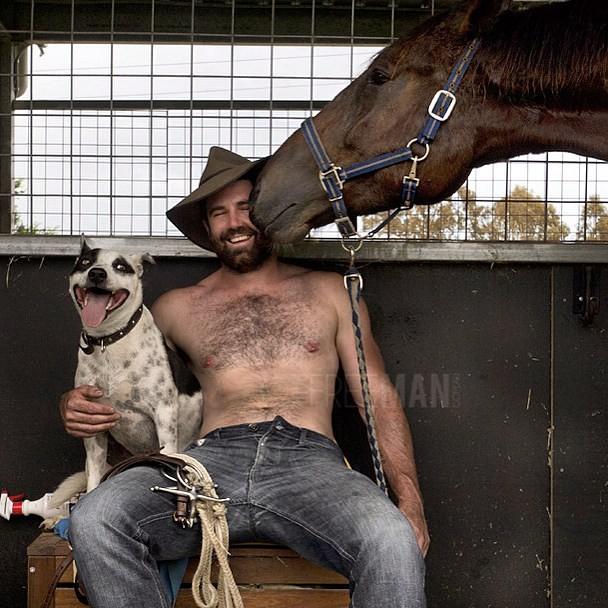 gay hot daddy dude men porn redneck country str8