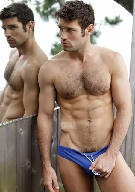 Bo Roberts gay hot daddy dude men