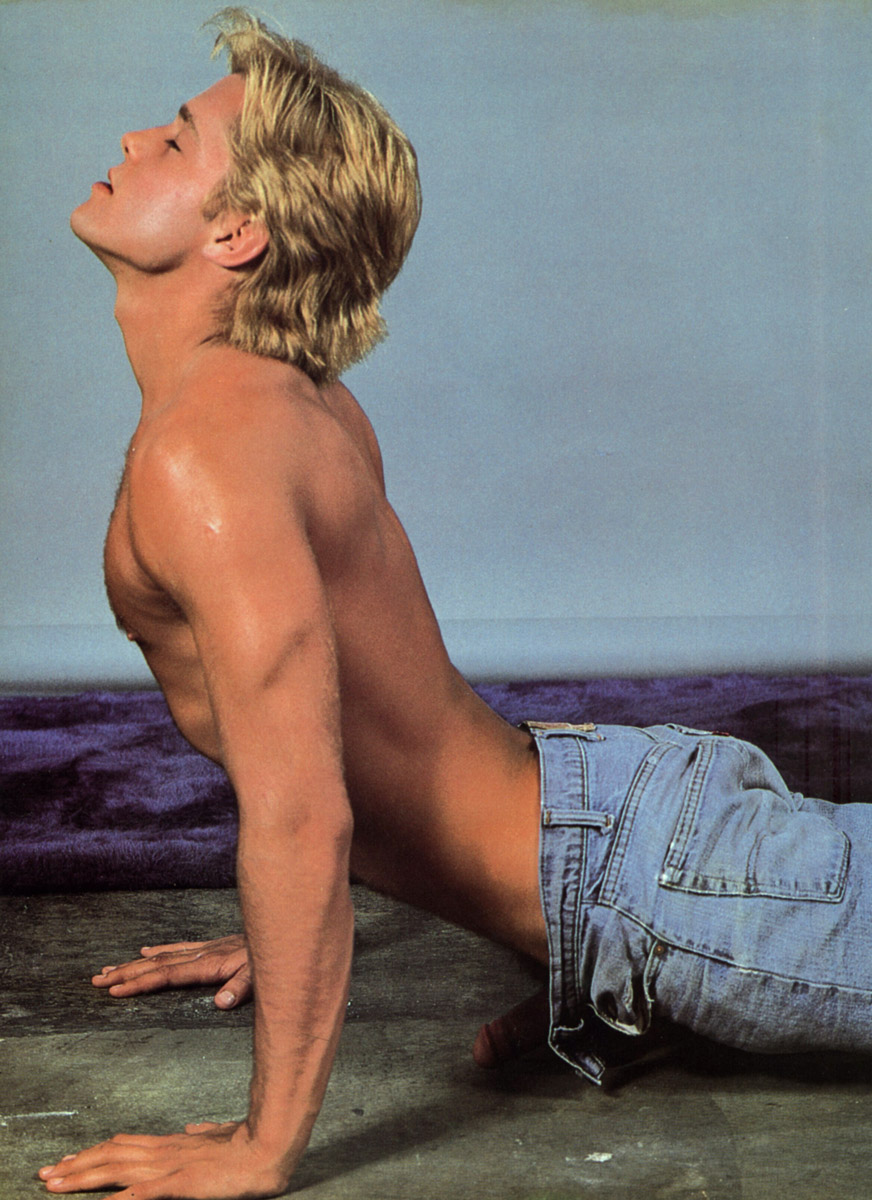 Christopher Lance vintage gay hot daddy dude men porn
