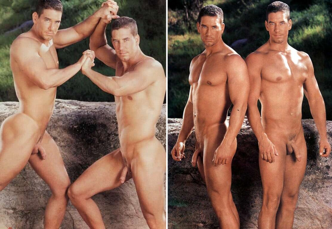 Falco Twins Jim and Nick Playgirl gay hot daddy men porn