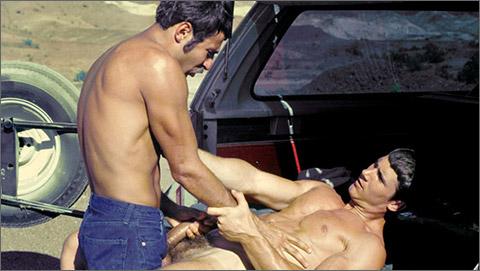Bob Bishop Ed Wiley vintage gay hot daddy dude men porn Ramcharger
