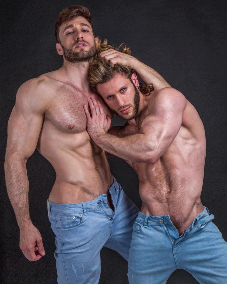 Davide Zongoli Anthony Forte gay hot sexy daddies dudes men