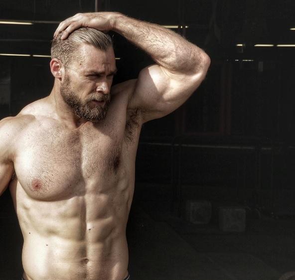 Brandon Myles White ripped hot daddies dudes men