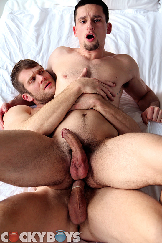 Colby Keller fuck Anthony Romero gay hot daddy dude men porn Cocky Boys