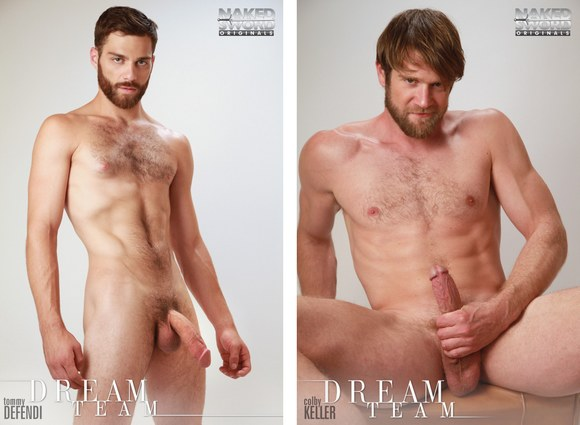 Colby Keller Tommy Defendi flip fuck Dream Team gay hot daddy dude men porn