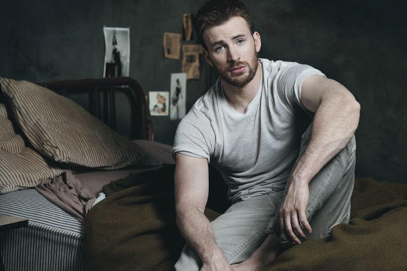 Chris Evans hot daddies dudes men