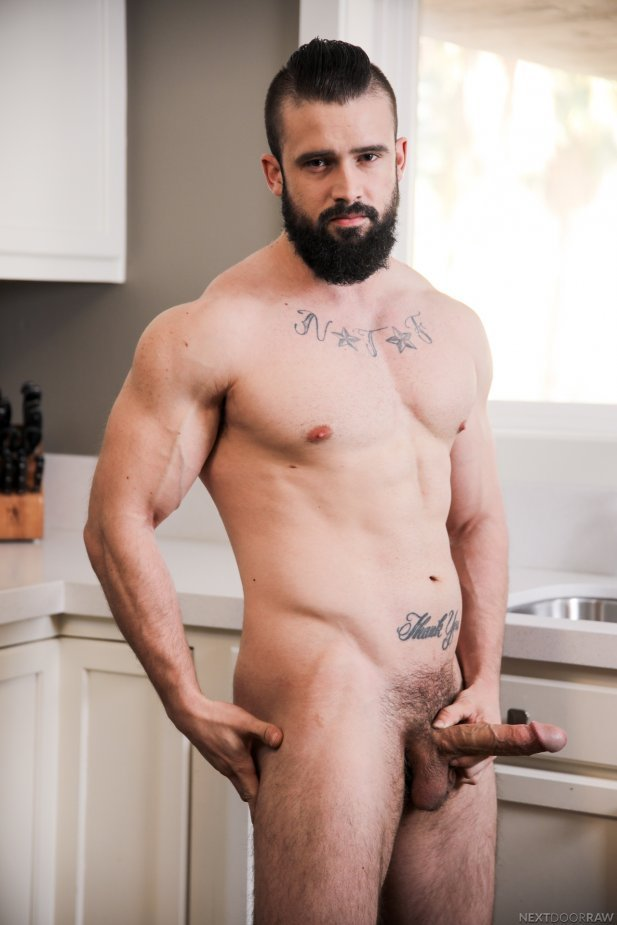 Mathias bareback fuck Carter Woods gay hot daddy dude men porn Perfect Buddies