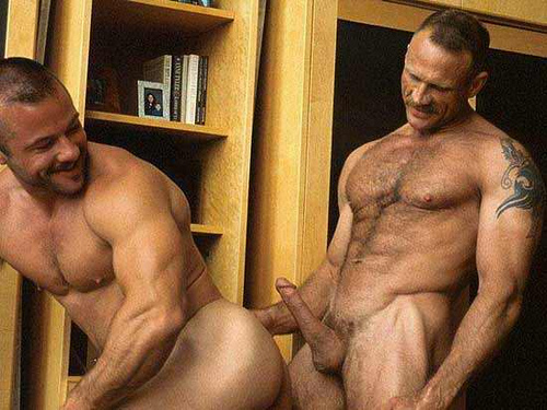 Dean Coulter Mike Roberts gay hot daddy dude men porn