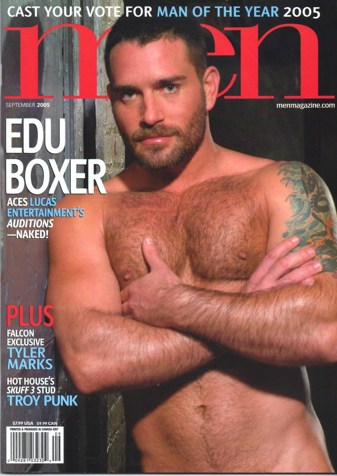 Edu Boxer hot gay daddy dude men porn