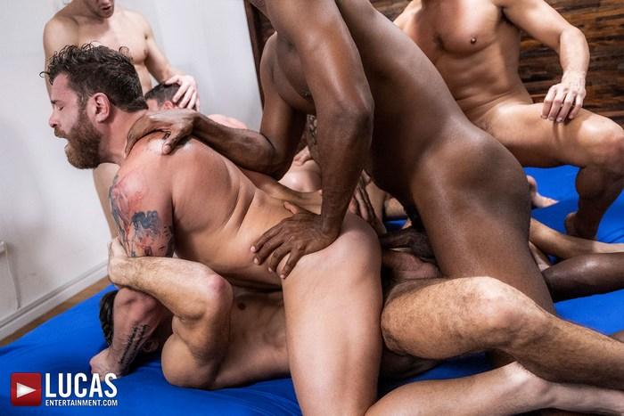 Raw Orgy Alexander Volkov, Riley Mitchel, Rafael Carreras, Manuel Skye, Andre Donovan, Edji Da Silva, and Andrey Vic gay hot daddy dude men porn