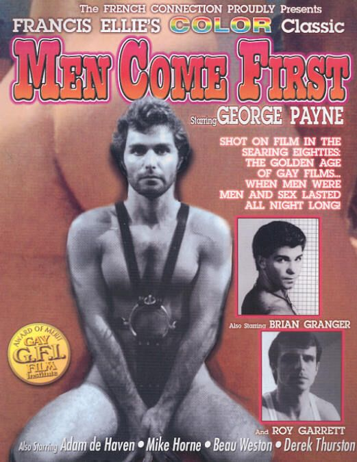 George Payne Brian Granger vintage gay hot daddy dude men porn Men Come First