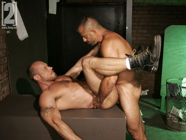 Jon Galt fuck Jake Deckard gay hot daddy dude men porn