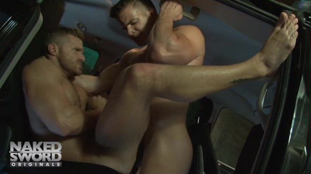 Angel Rock fuck Landon Conrad gay hot daddy dude porn Cheaters