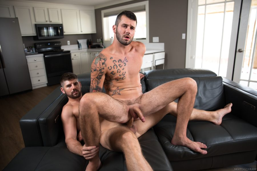 Connor Halsted fuck Johnny Hill gay hot daddy dude men porn