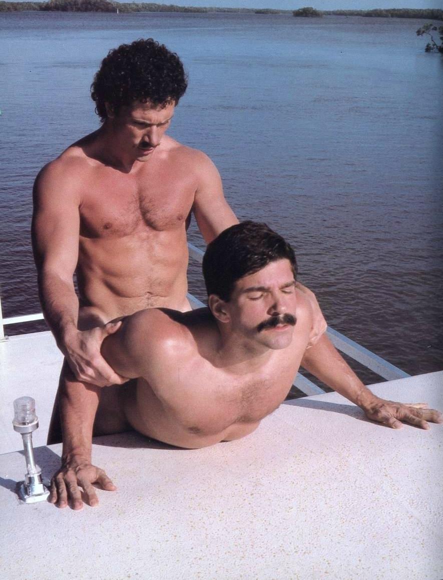 Rod Mitchell fuck Kyle Hazard vintage gay hot daddy dude men porn